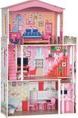 Ogromny domek dla lalek z mebelkami