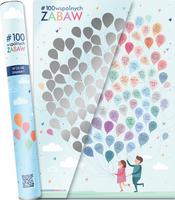 Plakat ze zdrapką dla dzieci. 100 wspólnych zabaw - w tubie