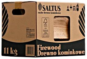 Drewno Suszone Karton 11 KG