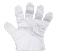 Rękawiczki jednorazowe foliowe HDPE ochronne rozmiar L 100 sztuk