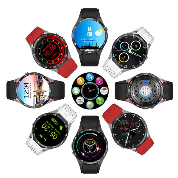 SMARTWATCH KW88 ANDROID 5.1 WIFI GPS SIM AMOLED PL na Arena.pl