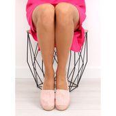 Espadryle koronkowe różowe BB15P Pink r.36 zdjęcie 3