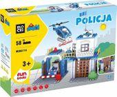 MUBI POLICJA 58 EL KOMISARIAT ŚWIATŁO DŹWIĘK KLOCKI BLOCKI