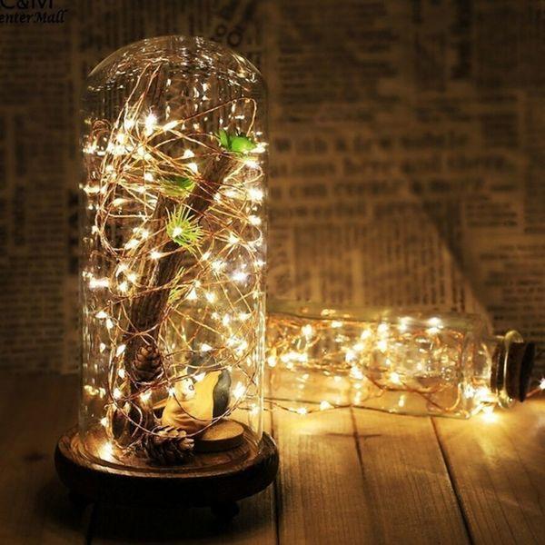LAMPKI CHOINKOWE OZDOBNE MIKRO 100 LED 11metrów NA PRĄD DRUCIKI zdjęcie 2