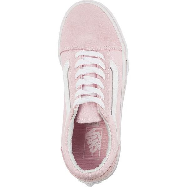 Vans OLD SKOOL SUEDE CANVAS Q7K CHALK PINK TRUE WHITE Rozmiar 31