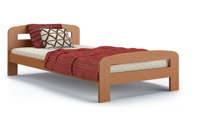 Łóżko DALLAS 200x90 + drewniany stelaż zdjęcie 1