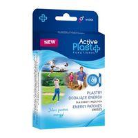 Plastry Active Plast, Dodajace Energii, 6 sztuk - Długi termin ważności!