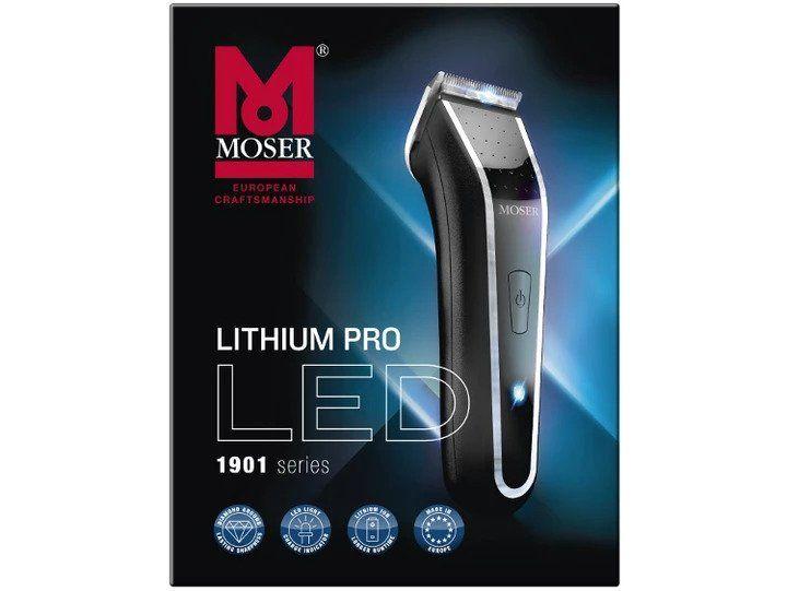 Maszynka do strzyżenia Moser 1901-0460 Lithium Pro LED Maszynka do włosów zdjęcie 6