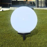 Ogrodowa Lampa Solarna Led 40Cm, 1Szt Z Uziemieniem Spike