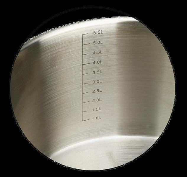 Garnek do gotowania na parze ze stali nierdzewnej 24 cm zdjęcie 6