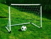 Bramki  2w1 185x120x70 CM + Piłka zestaw piłkarski zdjęcie 2