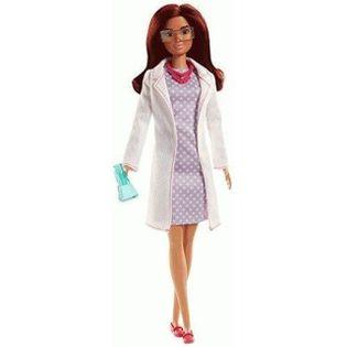 Lalka Barbie Kariera Naukowiec