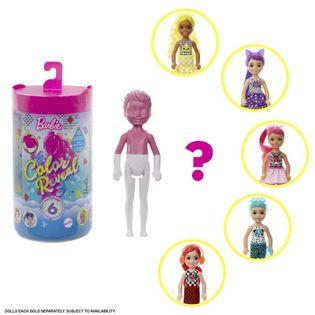 Barbie Color Reveal Chelsea z niepodzianką GWC60
