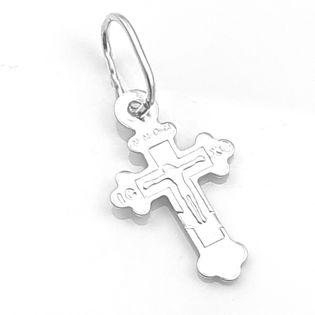 Krzyżyk srebrny prawosławny