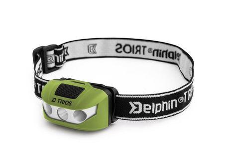 Delphin TRIOS 1W Lampka czołowa