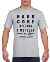 Koszulka męska NA SILOWNIE RZEZNIA I MORDEGA s XXL