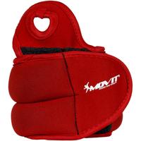 Czerwone obciążniki na ręce 2x1,5 kg MOVIT