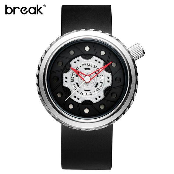 Nowoczesny, męski zegarek Break w eleganckim pudełku zdjęcie 6