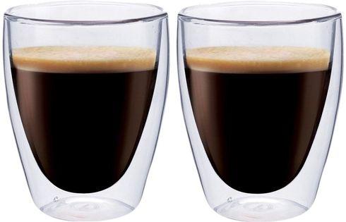Szklanki z Podwójną Ścianką do Kawy Herbaty Coffee 235ml 2 sztuki