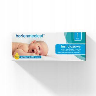 TEST CIĄŻOWY STRUMIENIOWY HorienMedical 1 szt.