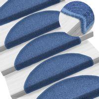 Nakładki Na Schody, 15 Szt., 65 X 24 X 4 Cm, Niebieskie