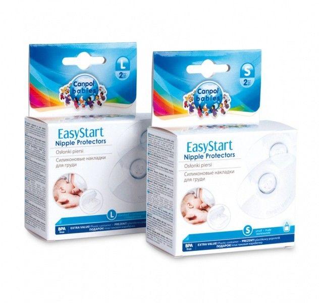 Canpol Osłonki piersi Premium EasyStart 2szt Rozmiar - Małe (M) zdjęcie 1