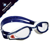 Okulary pływackie KAIMAN EXO SMALL  Kolor - Aqua Sphere - Kaiman EXO Small - EP118112 - granat / biały / jasne szkła