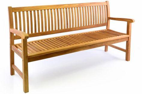 Ławka ogrodowa 3-osobowa drewniana 180 cm