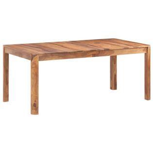 Stół jadalniany, 180 x 90 x 77 cm, lite drewno sheesham