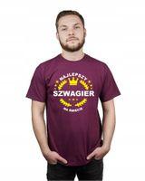 Koszulka męska NAJLEPSZY SZWAGIER NA ŚWIECIE XL
