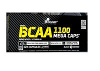 Olimp BCAA 1100 Mega Caps z witaminą B6 120 kapsułek