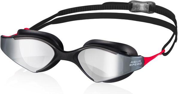 Okulary pływackie BLADE MIRROR Kolor -Blade M. - 31-czarny/czerwony