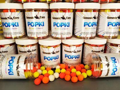 GENESIS CARP Popki Fluo Mini Bloodworm 9mm