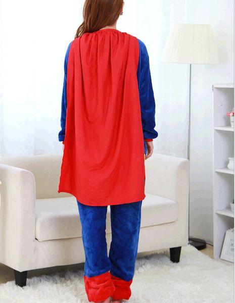 PIŻAMA KIGURUMI ONESIE KOMBINEZON SUPERMAN M zdjęcie 7