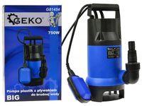 Pompa do brudnej wody z pływakiem Geko G81454
