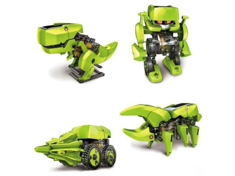 Zabawka Solarna Robot Solarny 4w1 zdjęcie 2
