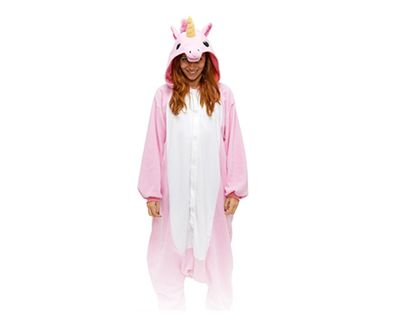 Różowy pegaz Kigurumi Onesie dres piżama kombinezon S