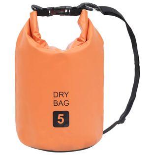 Lumarko Worek wodoszczelny, pomarańczowy, 5 L, PVC