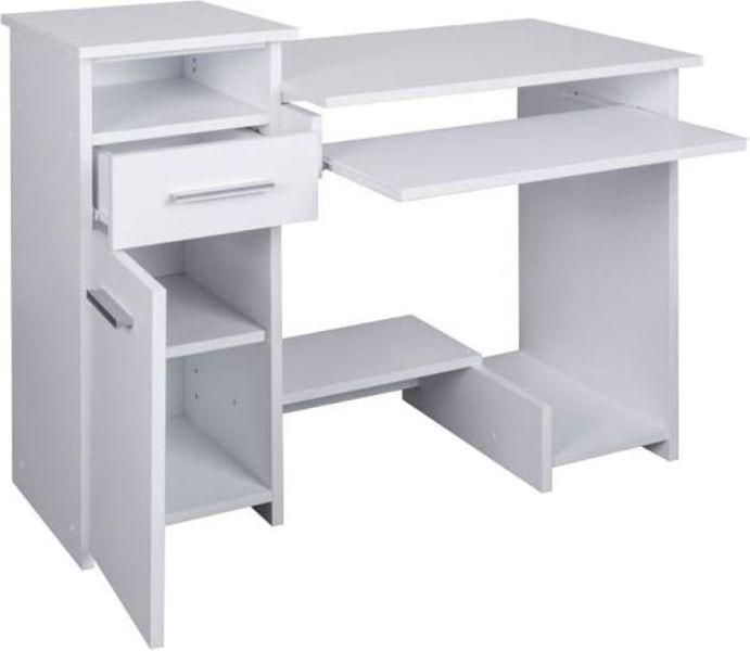 Biurko Białe Komputerowe Młodzieżowe Duże Bartek Arenapl