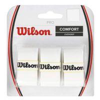 Owijka Wilson Pro Comfort Overgrip biała 3szt WRZ4014WH