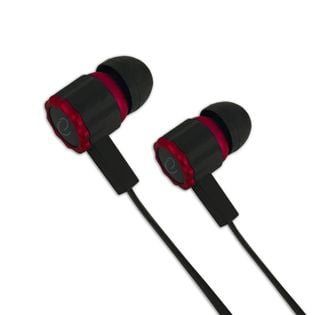 EGH201R Esperanza słuchawki douszne z mikrofonem gaming viper czarno-czerwone
