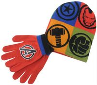 Komplet czapka + rękawiczki DISNEY Avengers