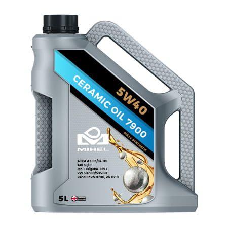 MIHEL Ceramic Oil 7900 5W40 Olej ceramiczny 5L na Arena.pl