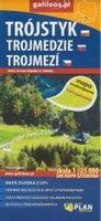 Mapa wodoodporna -Trójstyk/Trojmedzie/Trojmezi praca zbiorowa