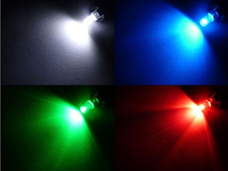 żarówka LED T5 w oprawie B8.4D do zegar licznik 12v KOLORY na Arena.pl