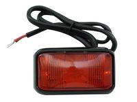 Lampa LED obrysowa obrysówka 4 SMD mocna Czerwona 12v 24v