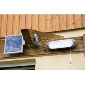 Lampa solarna naścienna LED