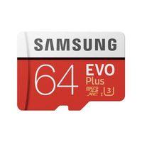 Samsung microSDXC Evo+ - Karta pamięci 64 GB z adapterem