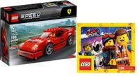 LEGO SPEED CHAMPIONS 75890 Ferrari F40 + KATALOG LEGO