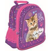 Plecak szkolny dla dziewczynki My Little Friend - kotek